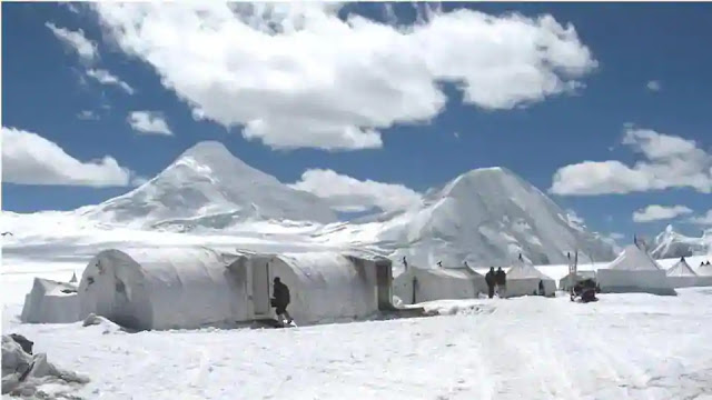 Indian Army in  siachen