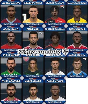 PES 2017 Facepack April 2020 by Sameh Momen