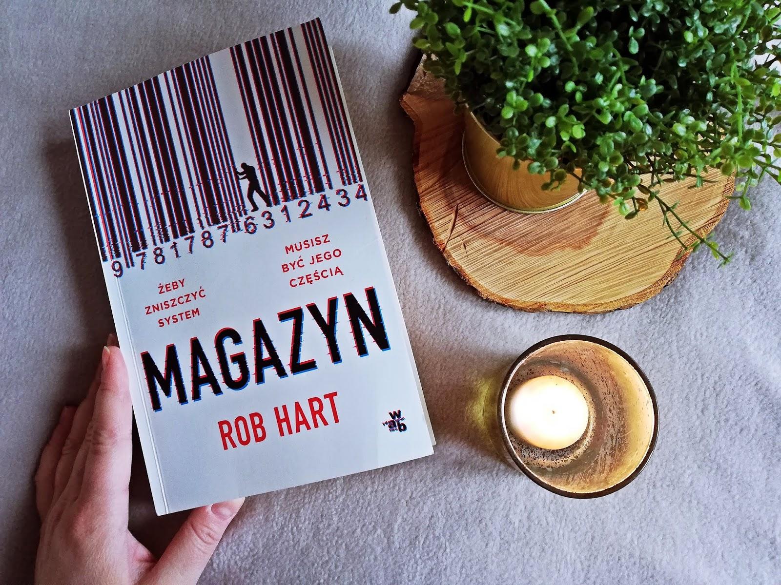 "Poznaj ""Magazyn"" Rob Hart"