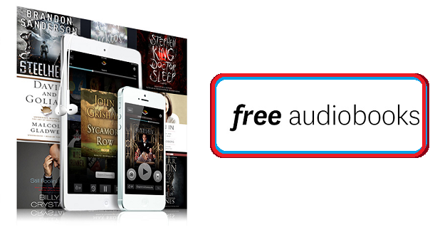 free book audible code