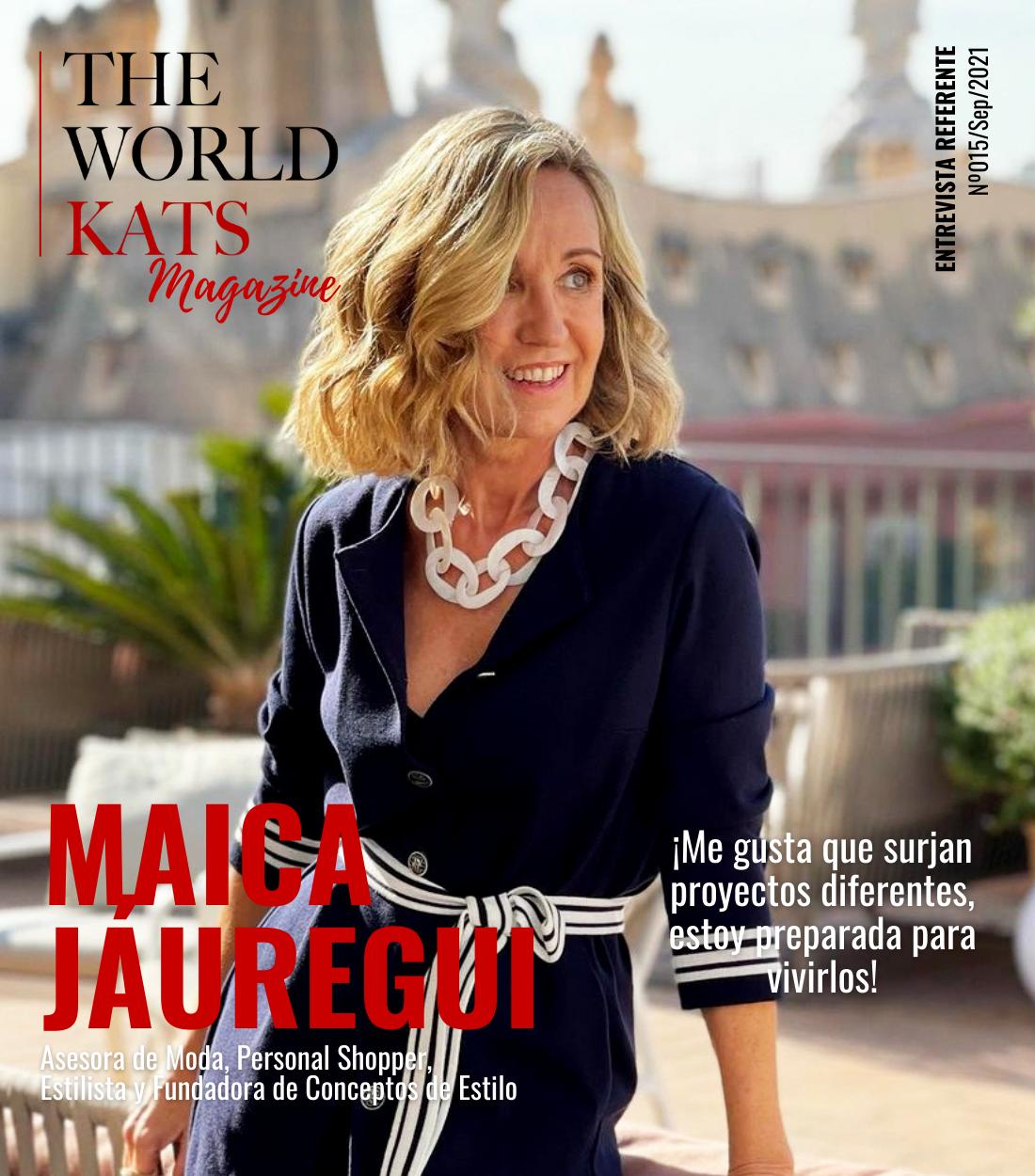 Maica Jáuregui, asesora de moda, personal shopper, entrevista