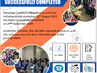 UNIFI LITE MIGRATION SUCCESSFULLY COMPLETED AT 29 September 2019