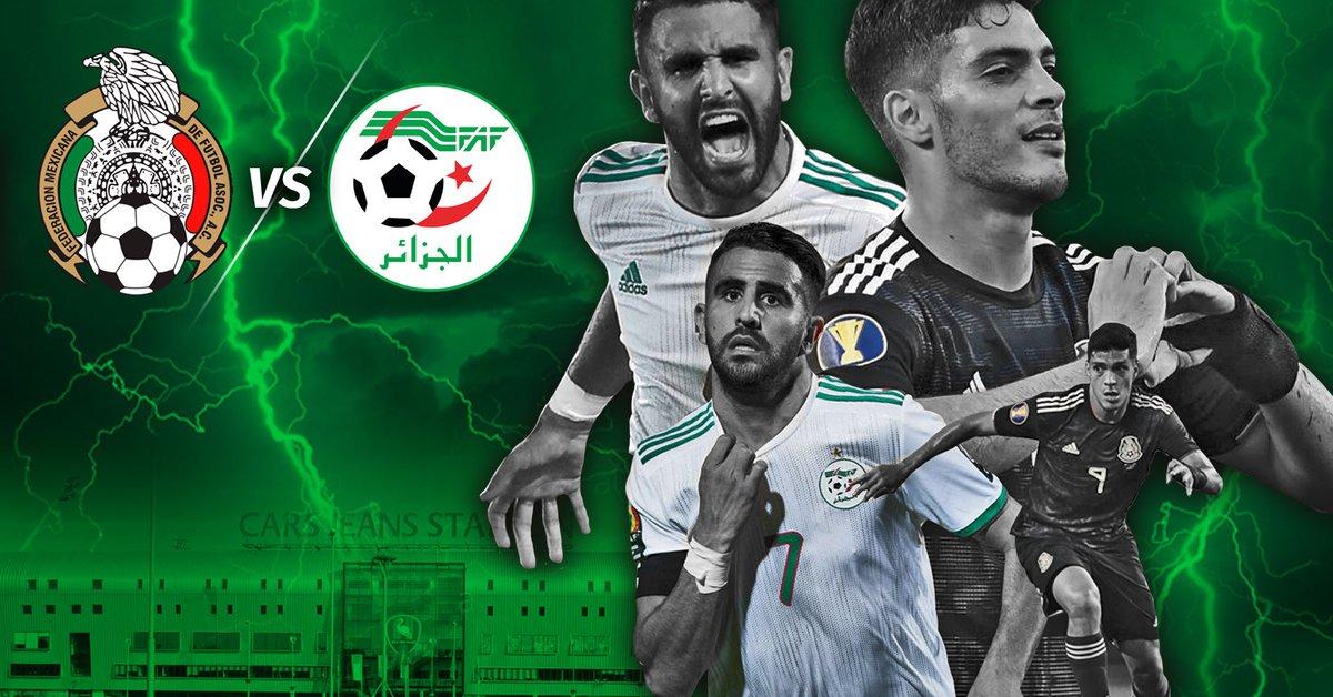 بث مباشر مباراة الجزائر والمكسيك