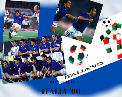 ricordi di Italia 90 i mondiali di calcio