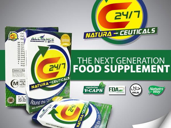 C24/7 NATURA-CEUTICALS - Food Supplement for Next Generation