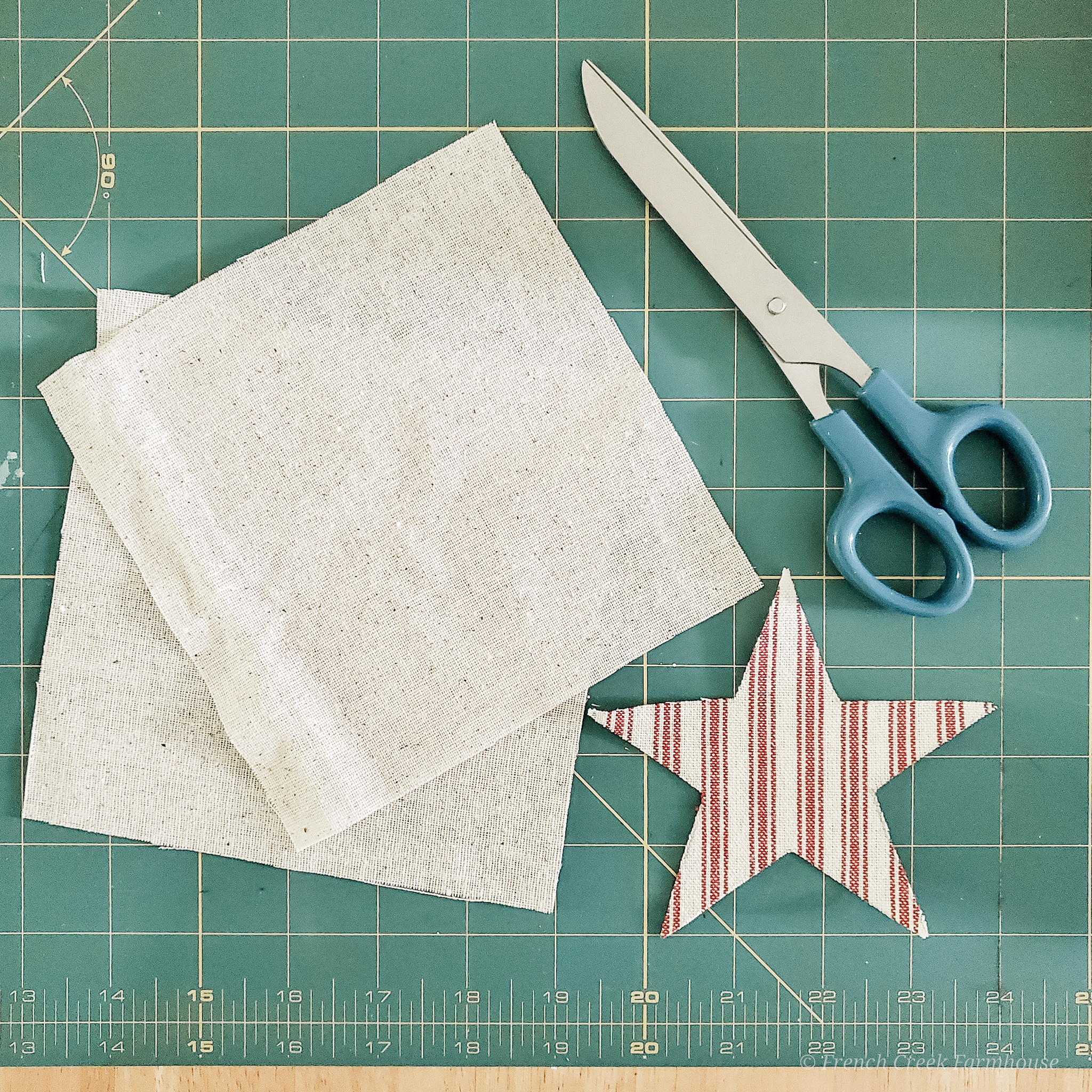 Step 3: Cut out fabric pieces