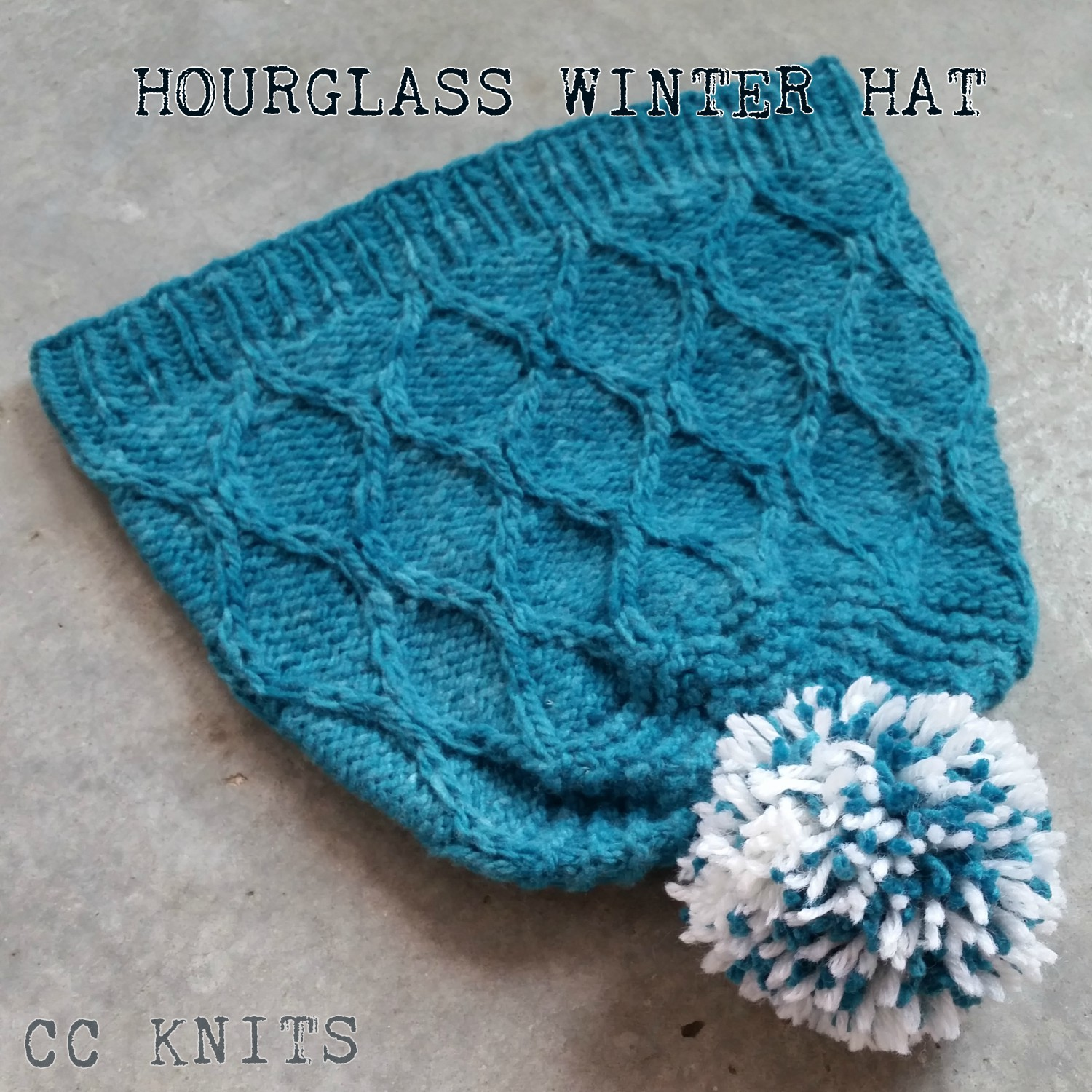 Knitting Picking Up Stitches Purlwise : CC Knits: Hourglass Winter Hat (or My First Published Knitting Pattern)