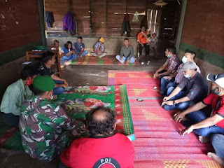 Bupati Taput Nikson Nababan Selalu Hadir di Tengah Kesusahan Rakyatnya
