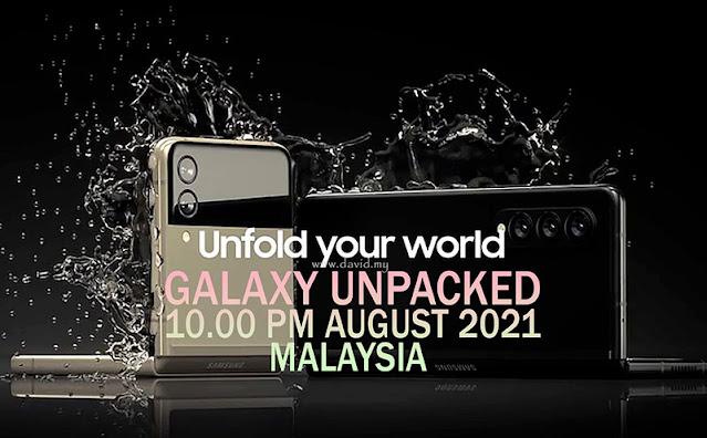 Galaxy Unpacked 2021 Malaysia