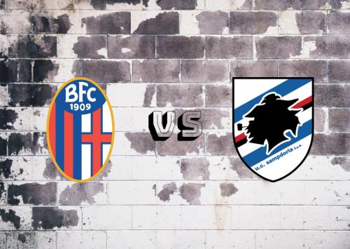 Bologna vs Sampdoria  Resumen