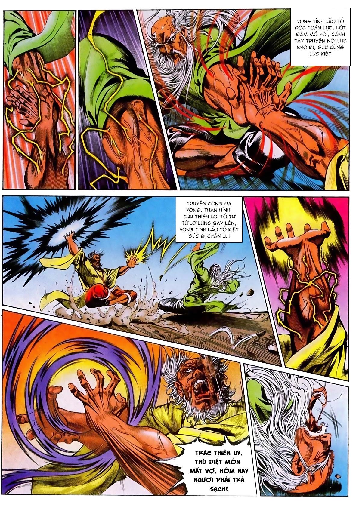 Thiết Tướng Tung Hoành chap 270 - Trang 10