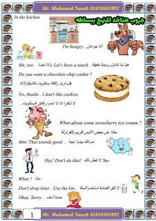 مراجعة وتمارين اختيار من متعدد لغة انجليزية الصف الرابع الابتدائى شهر ابريل