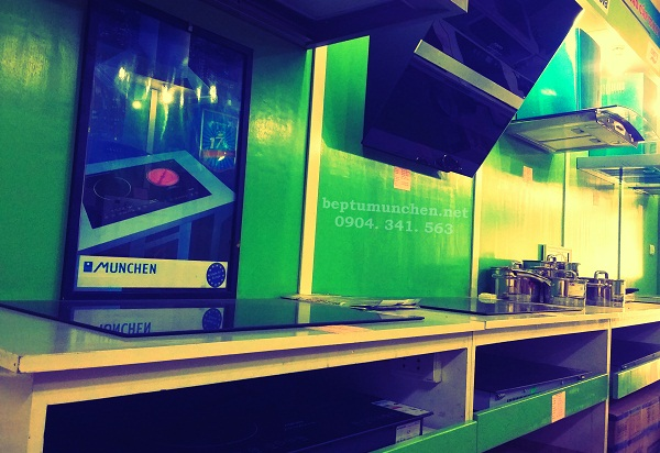 showroom bếp điện từ Munchen Nội thất Kường Thịnh