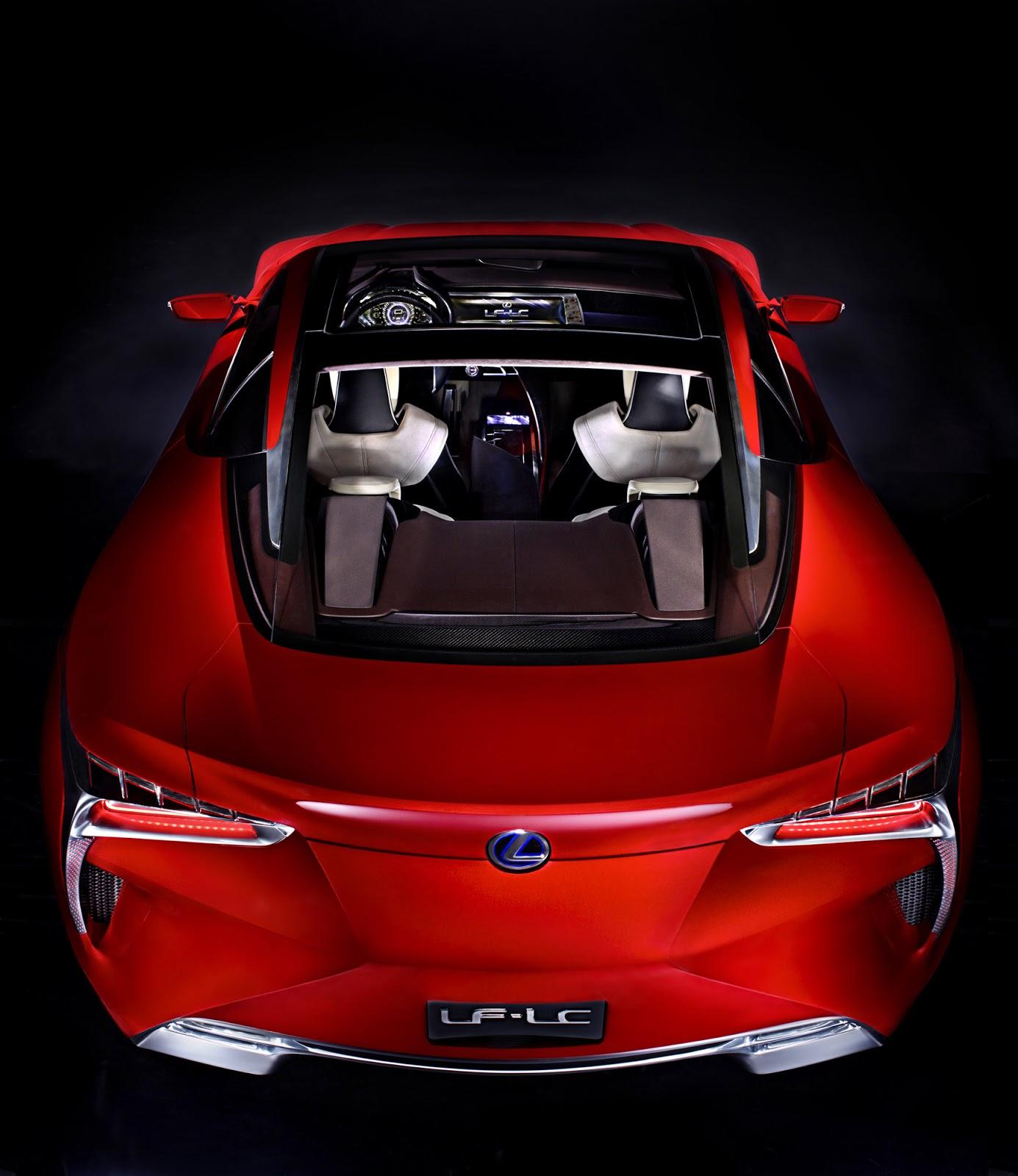 Cars GTO: 2012 Lexus LF-LC Sport Coupe Concept