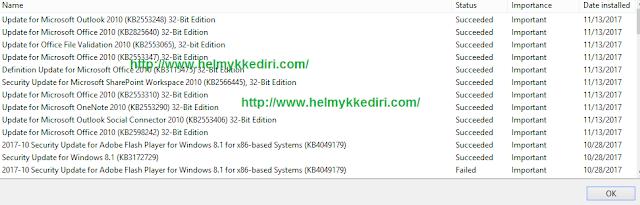 Instal Semua Windows Update yang Tersedia