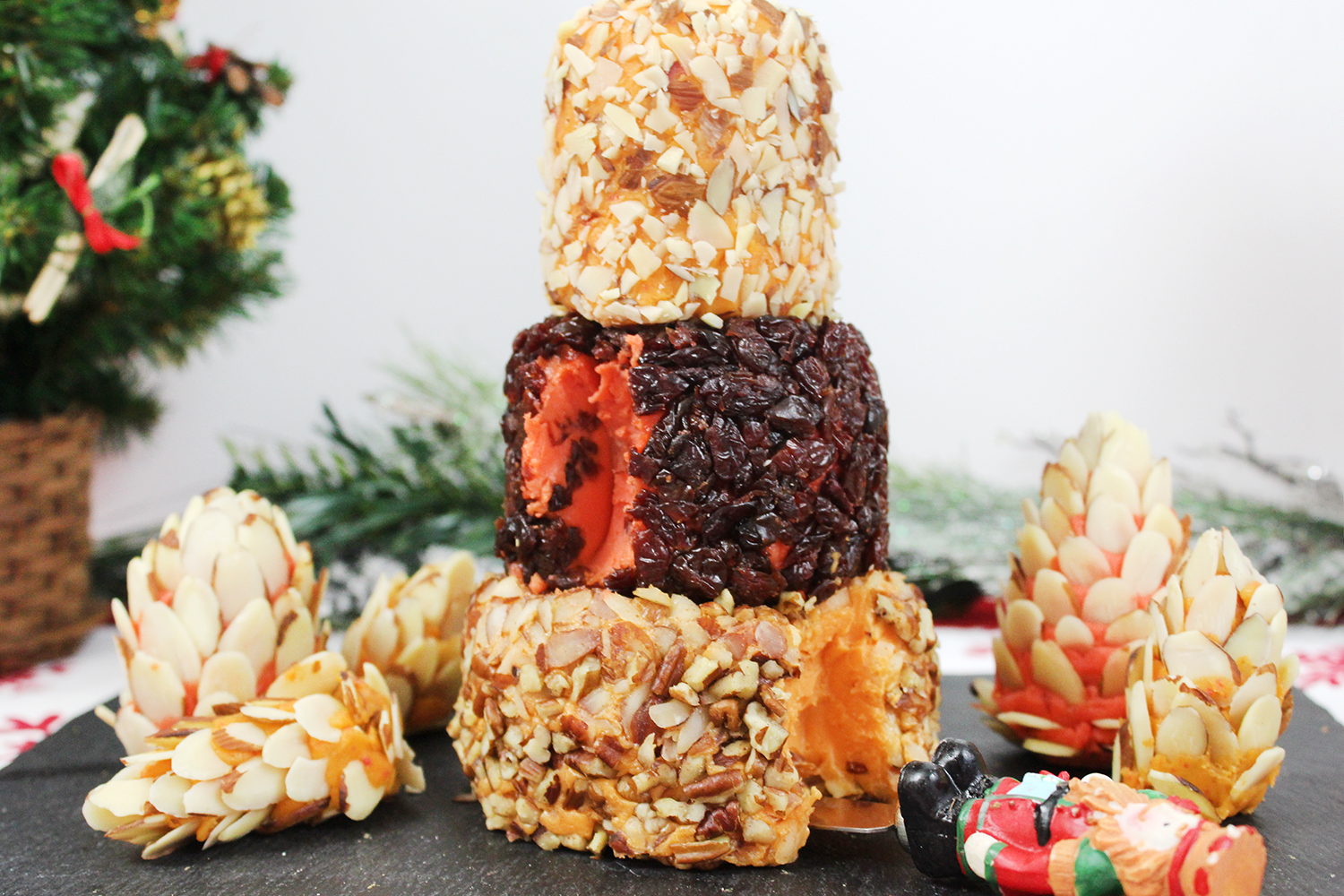 3-Tier Cheese Ball Tower