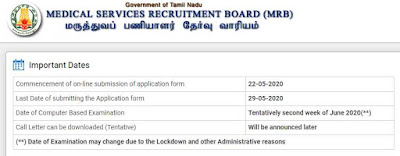 TN MRB Sarkari Naukri Recruitment 2020 for 223 Assistant Surgeon (General) Posts: Apply Online   Sarkari Jobs Adda