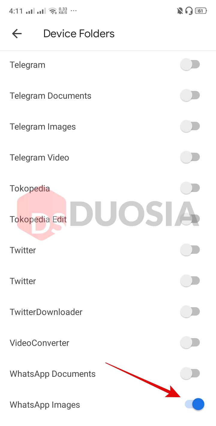 cara backup data di whatsapp otomatis