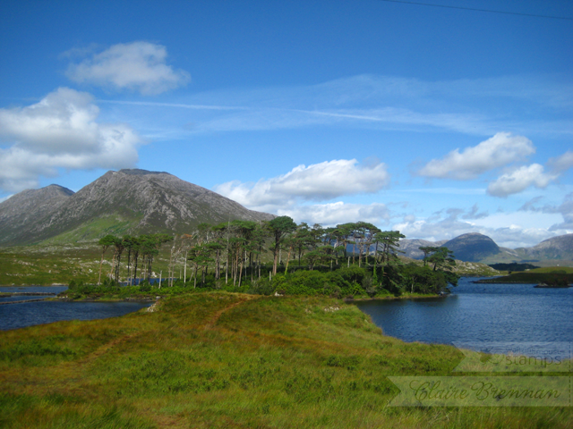 Derryclare lough, Connemara, Ireland