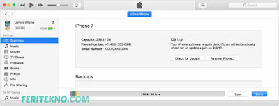 cara cek imei iphone apple 7