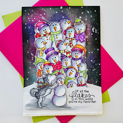Of all the flakes by Bobbi features Frozen Fellowship and Winter Woofs by Newton's Nook Designs; #newtonsnook