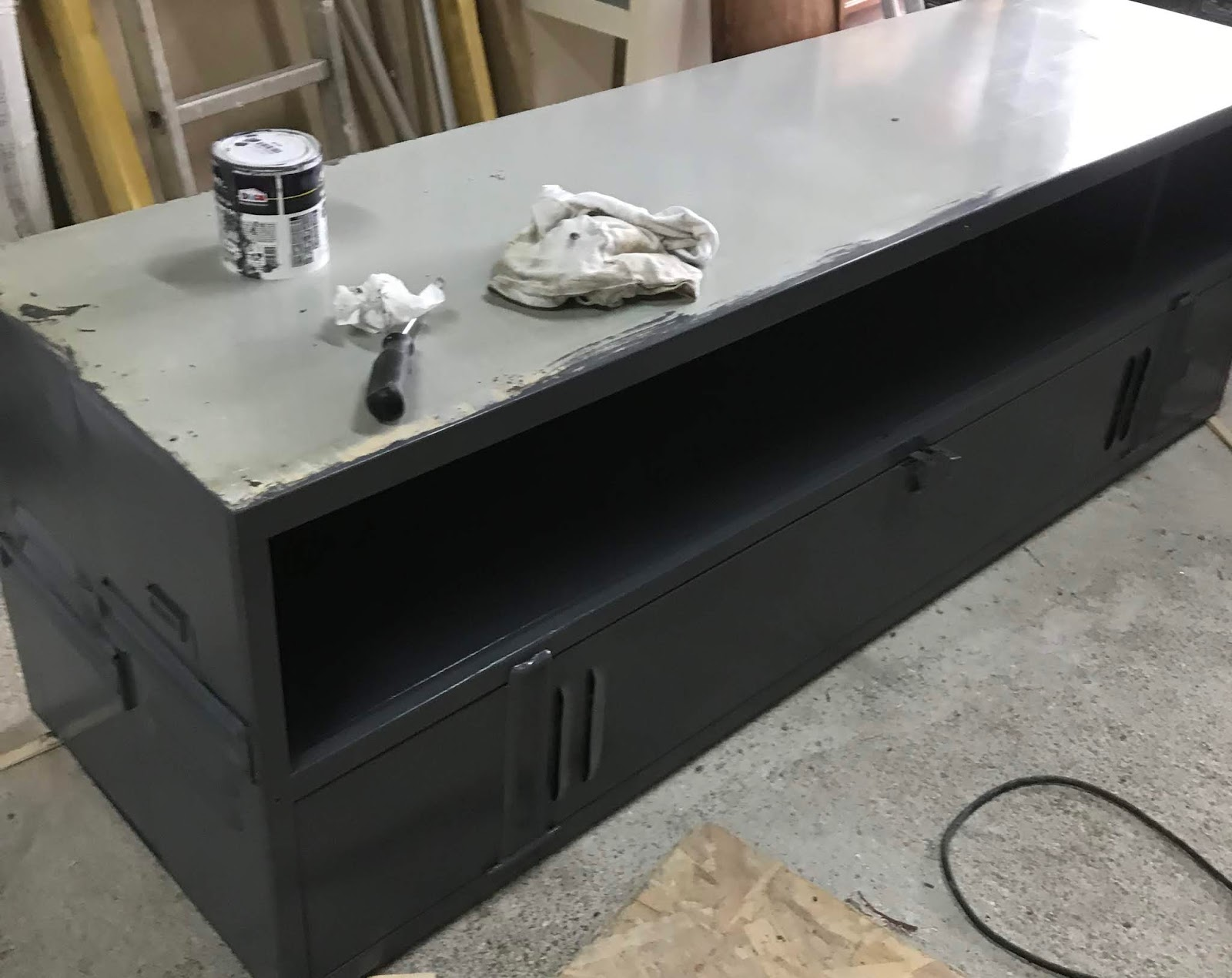 deco comment realiser un meuble tele