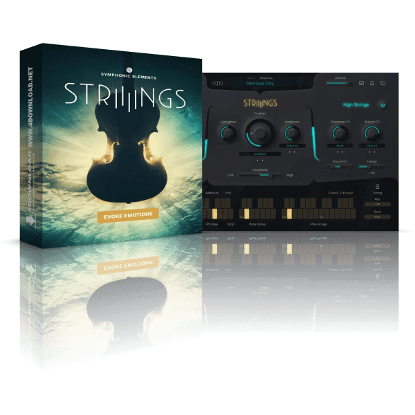 UJAM Symphonic Elements STRIIIINGS v1.0.0 Full version