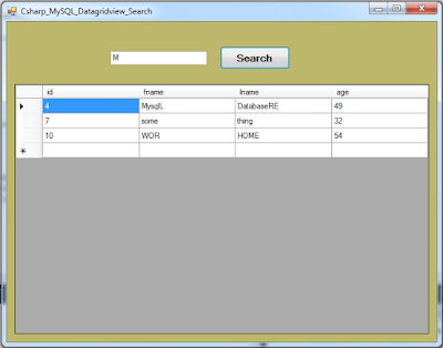 c# datagridview filter