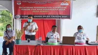 Pemdes Keroit Tingkatkan Kapasitas SDM Perangkat Desa