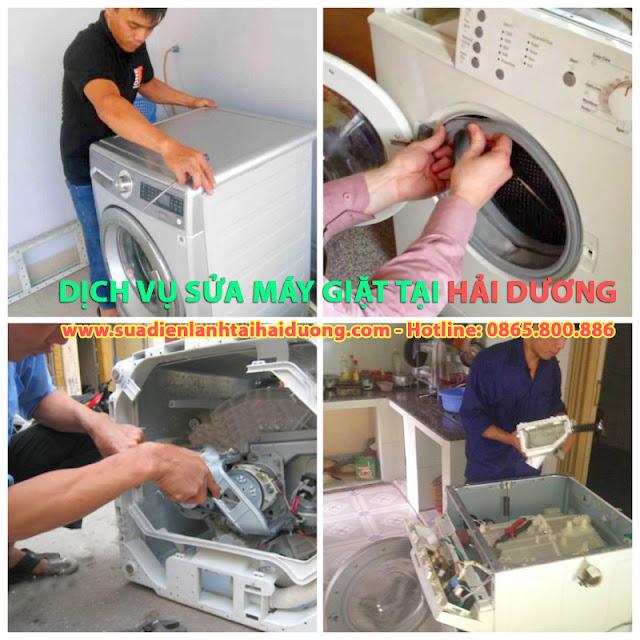 Sửa Máy giặt tại Hải Dương   Dịch vụ sửa Máy giặt tại nhà