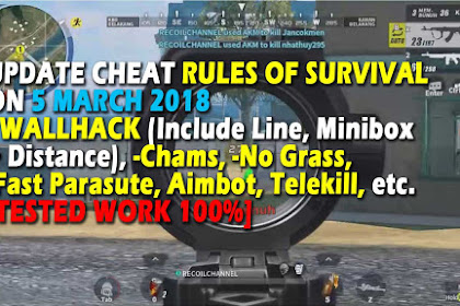 Cheat Rules of Survival Update 5 maret 2018 Valin 9.0!