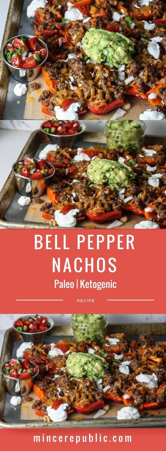 ★★★★☆ 7561 ratings   BELL PEPPER NACHOS #HEALTHYFOOD #EASYRECIPES #DINNER #LAUCH #DELICIOUS #EASY #HOLIDAYS #RECIPE #BELL #PEPPER #NACHOS