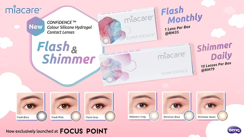 Miacare brings CONFiDENCE™ to Contact Lens Wearers