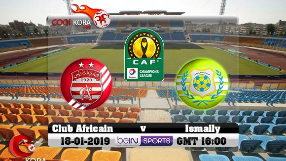 مشاهدة مباراة الإسماعيلي والنادي الإفريقي بث مباشر 18-1-2019 دوري أبطال أفريقيا