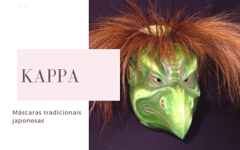Máscaras na Cultura Japonesa: Kappa
