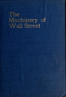 the machinery of Wall Street,