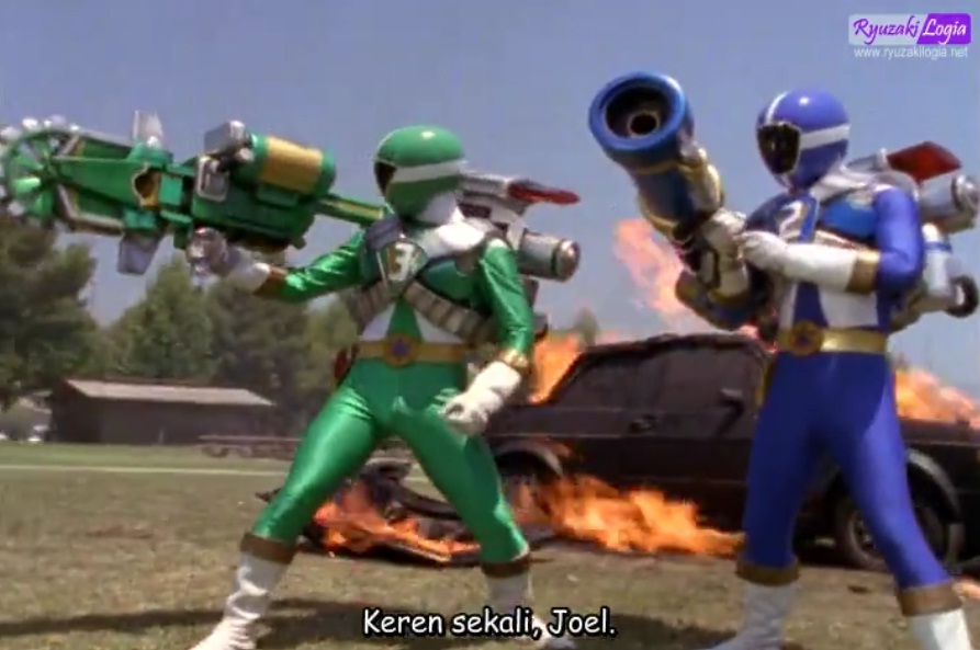 Power ranger lightspeed rescue episode 1 part 2 / Shining hearts