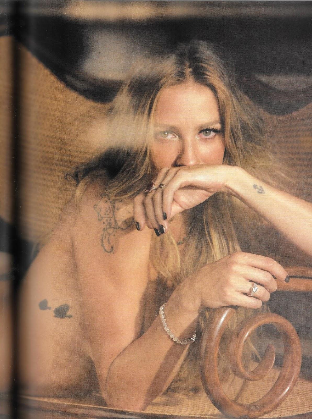 Gaby Potencia Nude revista playboy abril - luana piovani nua - famosas brasil
