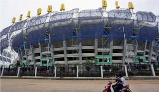 Dispora Ambil Alih Parkir Stadion GBLA