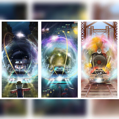 Back to the Future Trilogy Fine Art Prints by Andy Fairhurst x Bottleneck Gallery x Vice Press