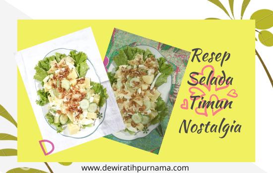 resep selada timun padang