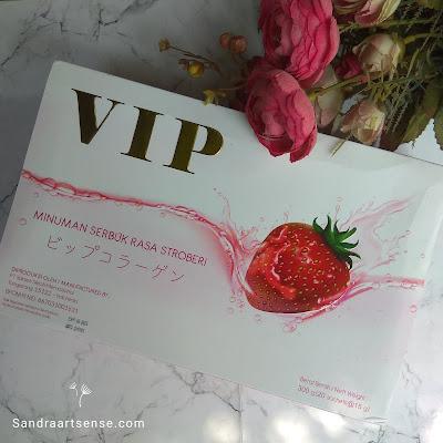 Review VIP Collagen Glutathione