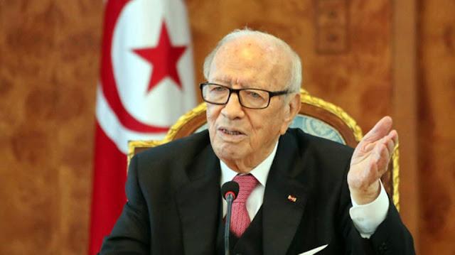 وفاة الرئيس التونسي الباجي قايد السبسي في المستشفى العسكري بتونس