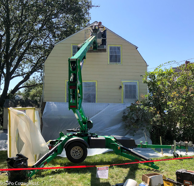 Sopo Cottage Moving Fast Asbestos Paint Colors And More
