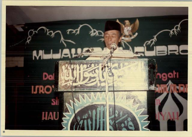 KH Ihsan Mahin Pendiri Pesantren Attahdzib Jombang