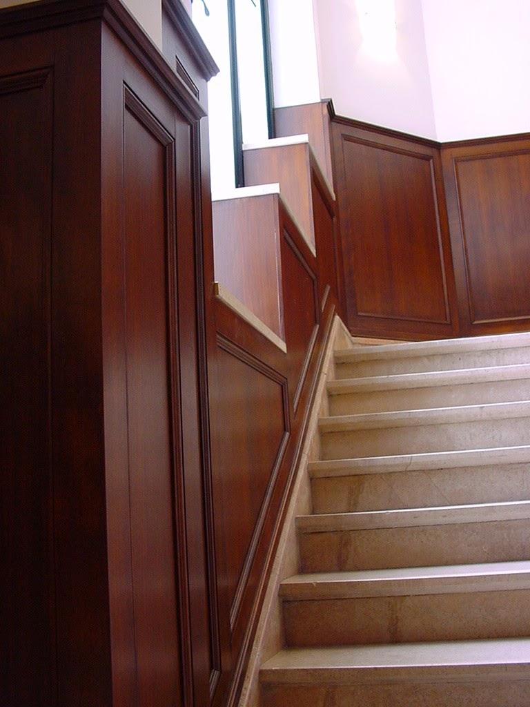 lambris escalier amazing style maison renovation maison With amazing peindre un escalier en blanc 8 du lambris trop de lambris