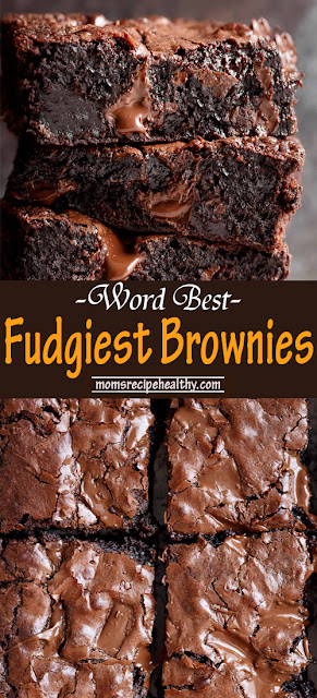 Worlds Best Fudgiest Brownies Recipes {+video}