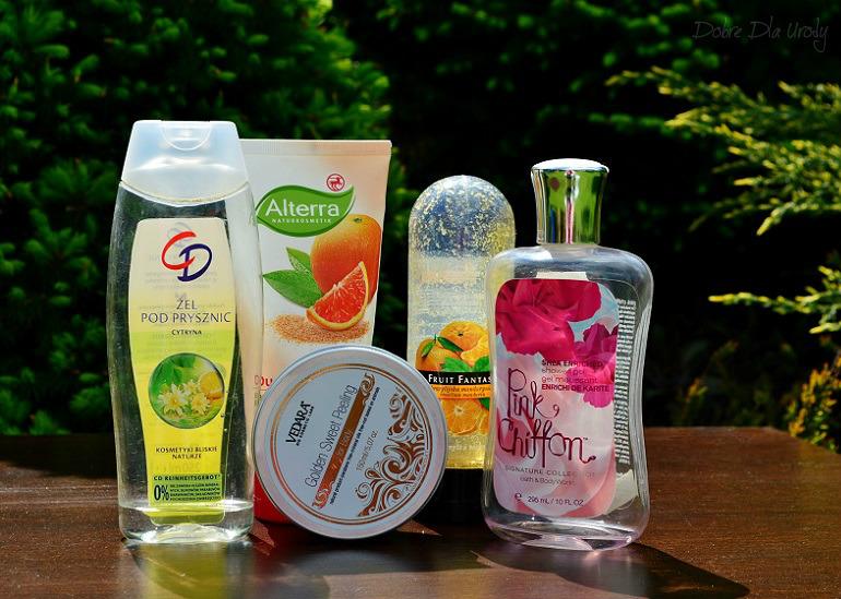 Denko - zużycia kosmetyczne - styczeń, luty,marzec - mycie i oczyszczanie ciała