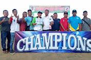 Tanding Sepak Bola, Allstars Menang di LIGA PON PANG Lhokseumawe