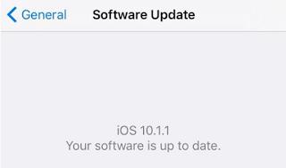 كيفية منع تحديث الجهاز إلى الاصدار iOS 10.2 لل iPhone و iPad